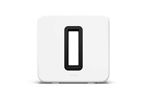 Sonos Sub (Gen 3) - The Wireless Subwoofer for Deep Bass - White
