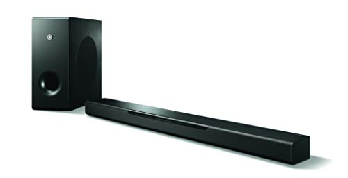 Yamaha YAS408BL Soundbar 3D Surround Sound with DTS Virtual:X
