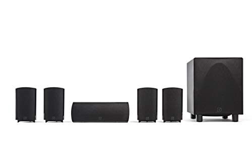 Definitive Technology ProCinema 6D - Compact 5.1 Channel Home Theater Speaker System (2019 Model) |...