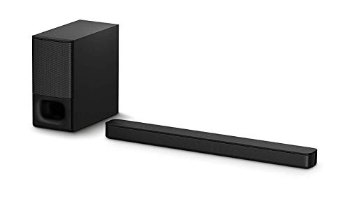 Sony HT-S350 Soundbar with Wireless Subwoofer: S350 2.1ch Sound Bar and Powerful Subwoofer - Home...