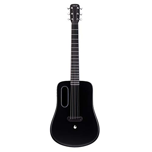 LAVA ME 2 Carbon Fiber Guitar with Effects 36 Inch Acoustic Electric Travel Guitar with Bag Picks...