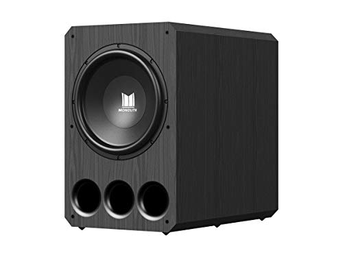 Monolith Powered Subwoofer - 15 Inch with 1,000 Watt Amplifier, THX Certified, Ideal for...