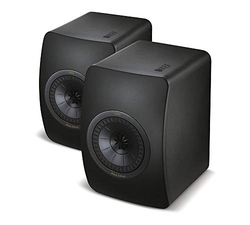 KEF LS50 Mini Monitor - High Gloss Piano Black (Pair), Speaker only