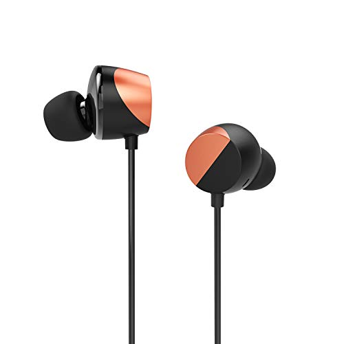 TUNAI Drum Hi-Resolution Audiophile in-Ear Earbud Headphones – Powerful Bass and Lively Sound...