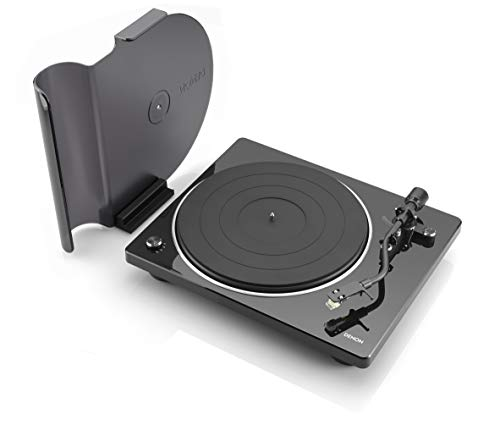 Denon DP-400 Semi-Automatic Analog Turntable with Speed Auto Sensor | Specially Designed Curved...