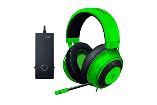 Razer Kraken Tournament Edition THX 7.1 Surround Sound Gaming Headset: Retractable Noise Cancelling...