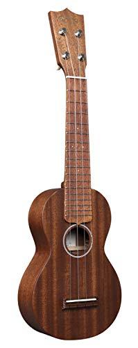 Martin Guitar S1 Acoustic Ukulele with Soft Case, Genuine Mahogany Construction, Hand-Rubbed Finish,...
