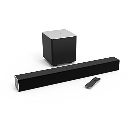 """VIZIO Sound Bar for TV, 28"""" 2.1 Surround Sound System for TV with Wireless Subwoofer and..."""