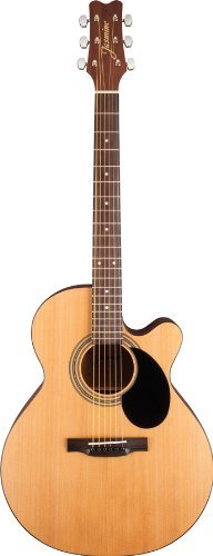 Jasmine S34C NEX Acoustic Guitar - with FREE Tune Pro clip on Tuner