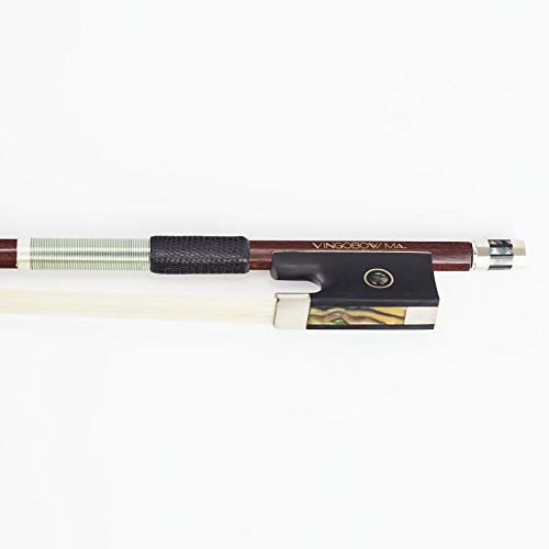 VINGOBOW Wood and Carbon Fiber Hybrid Violin Bow 4/4 Size