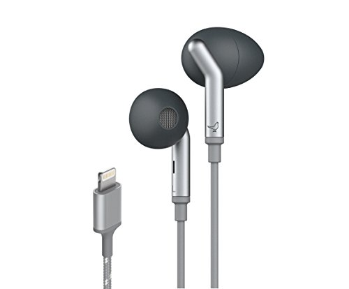 Libratone Lightning in-Ear Active Noise Cancelling Earbuds, MFi Certified Headphones Compatible with...