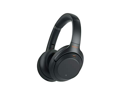 Sony Noise Cancelling Headphones WH1000XM3: Wireless Bluetooth Over the Ear Headset with Mic for...