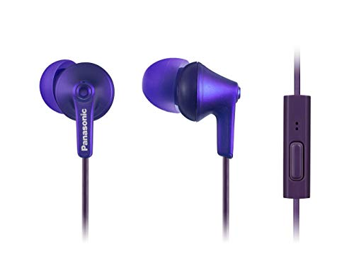 Panasonic ErgoFit Earbud Headphones with Microphone and Call Controller Compatible with iPhone,...