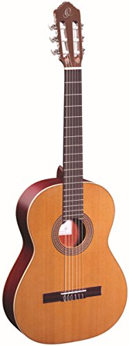 Ortega Guitars Traditional Series 6 String Classical Guitar, Right (R200)