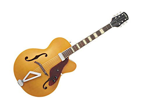 Gretsch G100CE Synchromatic Archtop Cutaway Acoustic Electric Guitar, Natural