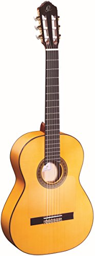 Ortega Guitars Traditional Series 6 String Classical Guitar, Right (R270F)