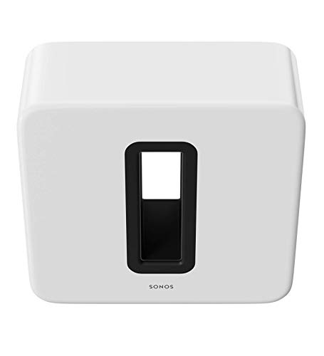 Sonos Sub - The Wireless Subwoofer for Deep Bass - White