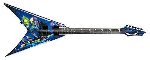 Dean V Dave Mustaine Guitar, Rust In Peace with Case
