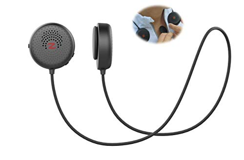 Zulu Audio Magnetic Wearable Bluetooth Speakers (Black) for Running, Bicycling, Hiking, with...