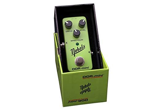 Nobels ODR-Mini Natural True Bypass Overdrive Guitar Effect Pedal with SPECTRUM Control