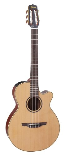 Takamine Pro Series 3 P3FCN FXC Body Nylon Acoustic Electric Guitar with Case