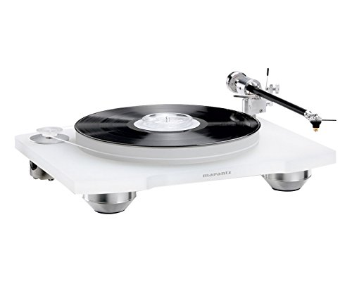 Marantz TT-15S1 Manual Belt-Drive Premium Turntable with Cartridge Included | Floating Motor for...