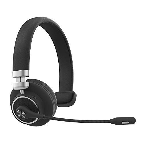Willful M91 Bluetooth Headset Wireless Headset with Microphone (Flexible Noise Cancelling Mic) Clear...