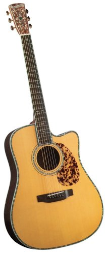 Blueridge Guitars 6 String Acoustic Guitar, Right Handed, Dreadnaught Sitka (BR-180CE)