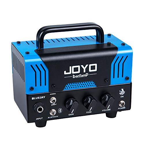 JOYO BLUEJAY (BLUES-JUNIOR) BanTamp Series Mini Amp Head 20 Watt Preamp 2 Channel Hybrid Tube Guitar...