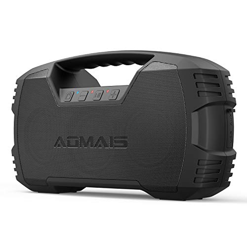 AOMAIS GO Bluetooth Speakers, 40H Playtime Outdoor Portable Speaker, 40W Stereo Sound Rich Bass,...