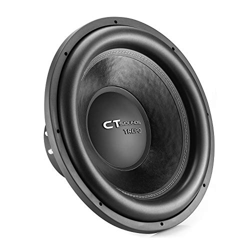 CT Sounds TROPO-18-D4 1300 Watt Max Power Dual 4 Ohm 18in Car Subwoofer
