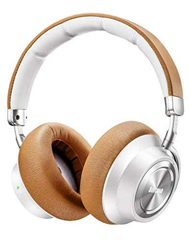 Boltune Noise Cancelling Headphones, [Upgraded] Bluetooth Headphones with Microphone/Deep Bass...