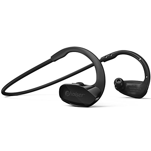 Phaiser BHS-530 Bluetooth Headphones for Running, Wireless Earbuds for Exercise or Gym Workout,...