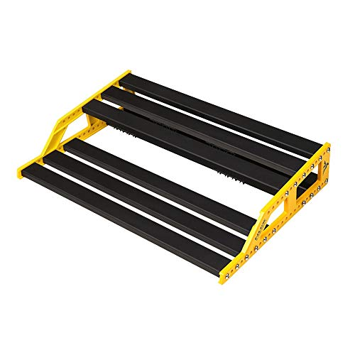 NuX EFX NPB-L (Large) Bumblebee Guitar Effects Pedalboard w/Bag, 13x18x4 Inches