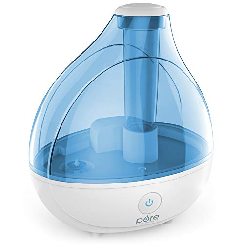 Pure Enrichment MistAire Ultrasonic Cool Mist Humidifier - Premium Humidifying Unit with...