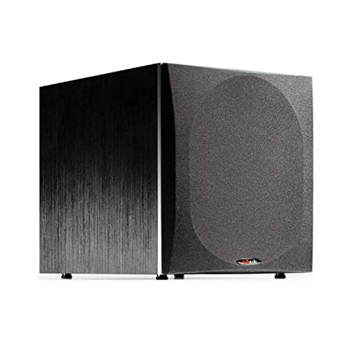 Polk Audio PSW505 12' Powered Subwoofer - Deep Bass Impact & Distortion-Free Sound, Up to 460 Watts,...