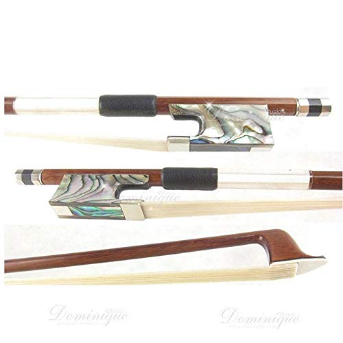D Z Strad Pernambuco Violin Bow Model 501 with Abalone Frog Full Size 4/4 (4/4 - Size)