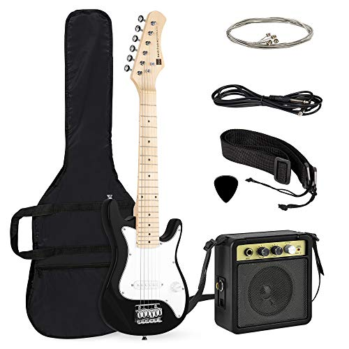 Best Choice Products 30in Kids Electric Guitar Beginner Starter Kit w/ 5W Amplifier, Strap, Case,...