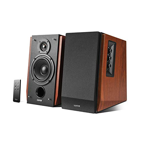 Edifier R1700BT Bluetooth Bookshelf Speakers - Active Near-Field Studio Monitors - Powered Speakers...