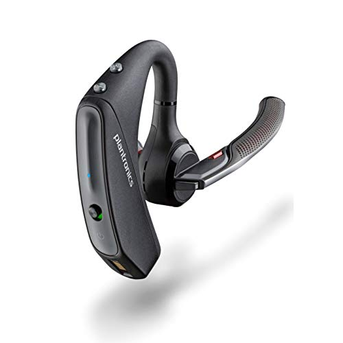 Plantronics - Voyager 5200 (Poly) - Bluetooth Over-the-Ear (Monaural) Headset - Compatible to...