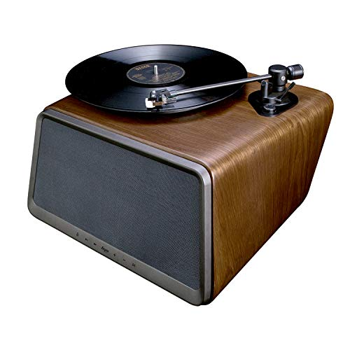 HYM Seed Belt Drive Turntable, Bluetooth Vinyl Record Player with 80W Output Stereo Speaker, RCA...