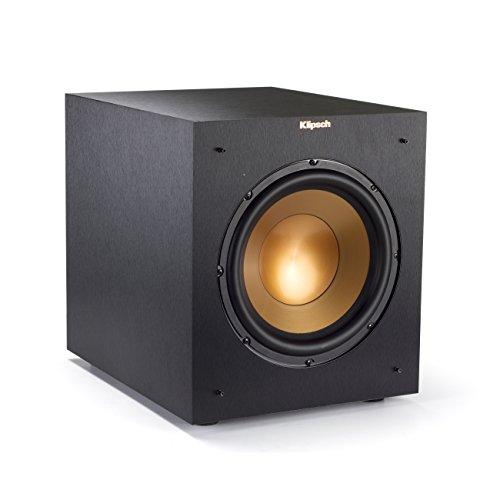 Klipsch R-10SWi 10' Wireless Subwoofer - Brushed Black Vinyl