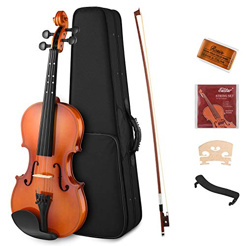 Eastar 4/4 Violin Set Full Size Fiddle EVA-2 for Kids Beginners Students with Hard Case, Rosin,...
