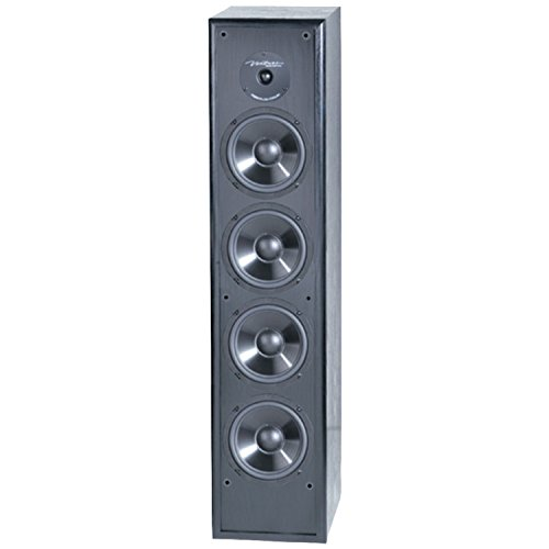 BIC America Venturi DV64 2-Way Tower Speaker, Black (Single)