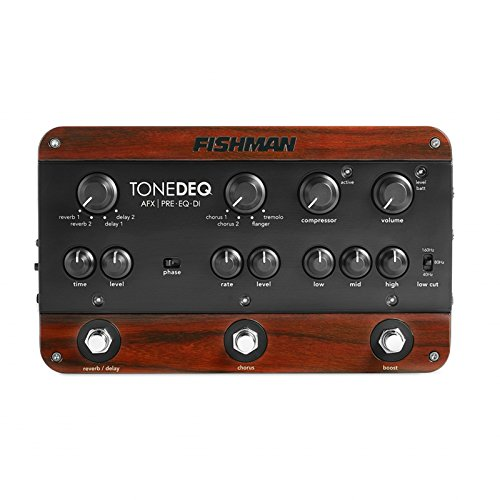 Fishman ToneDEQ AFX Preamp EQ and DI Box with Dual FX