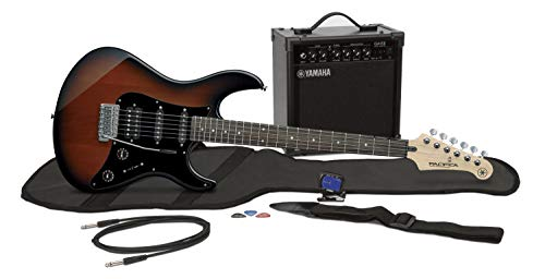 Yamaha GigMaker EG Electric Guitar Pack with Amplifier, Gig Bag, Tuner, Cable, Strap and Picks - Old...