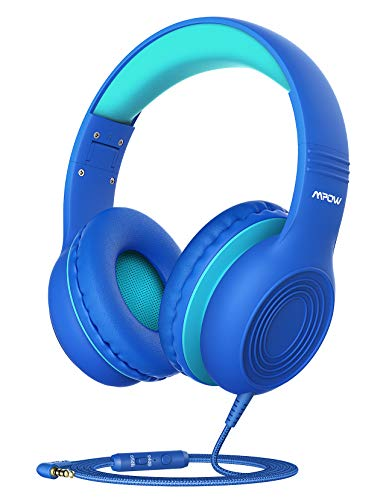 Mpow CH6S Kids Headphones with Microphone Over Ear, On Ear Headphones for Kids with HD Sound Sharing...