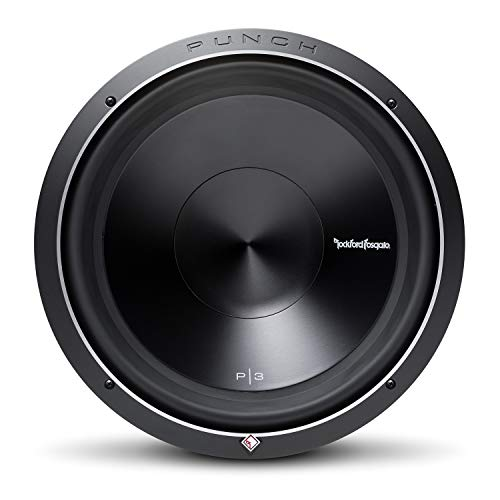 Rockford Fosgate P3D4-15 Punch P3 DVC 4 Ohm 15-Inch 600 Watts RMS 1200 Watts Peak Subwoofer