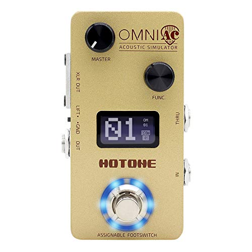 Hotone Omni AC Simulation Guitar Bass Effects Pedal
