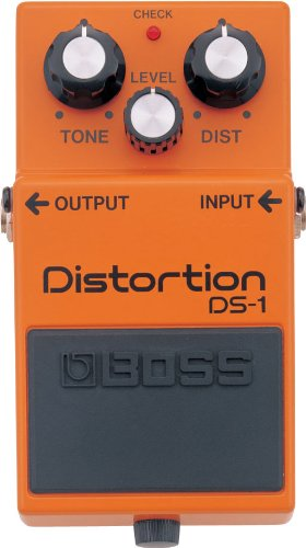 BOSS Distortion Guitar Pedal, Single Mode (DS-1)
